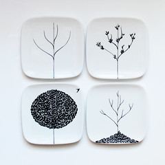 The Four Seasons Plate Set | by BDB NY