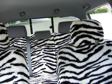 ShearComfort SeatCovers Zebra Print Seat Covers