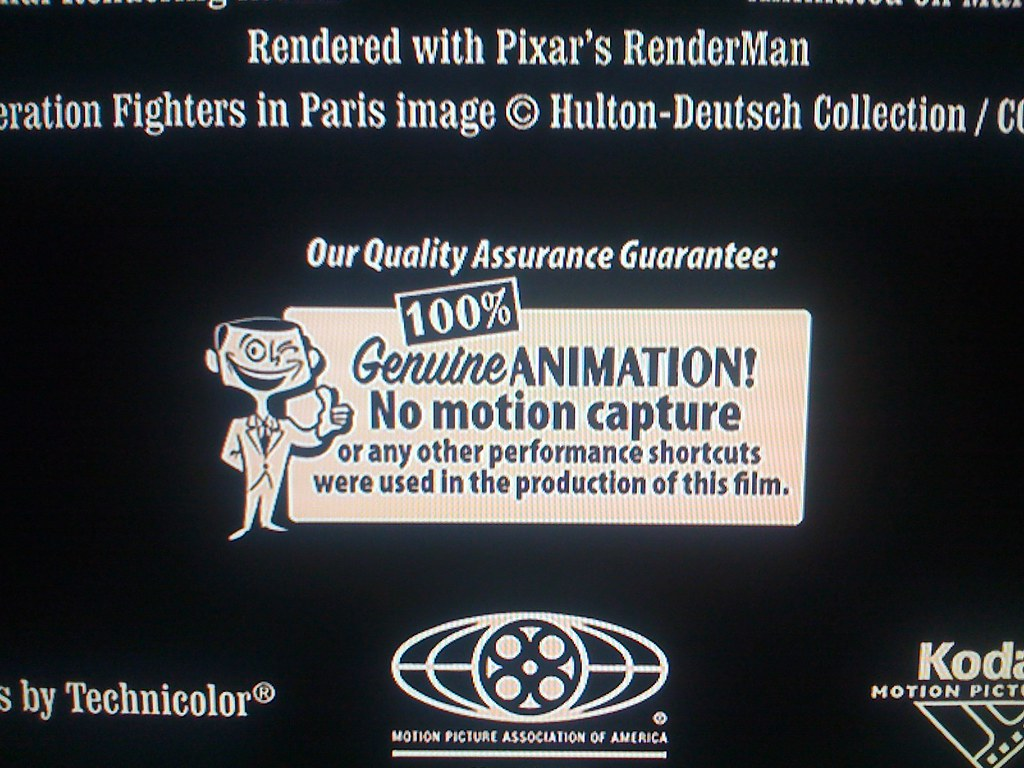 ... Interesting end credit in Ratatouille | by Moth