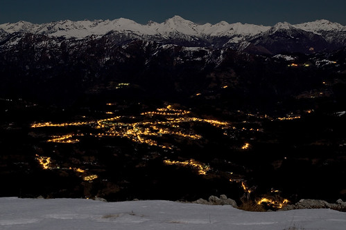Night view over the valley | by Pierpaolo.
