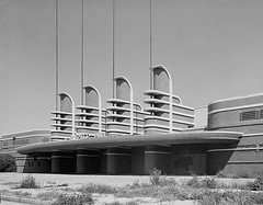 West Facade of the Pan-Pacific Auditorium | by Floyd B. Bariscale