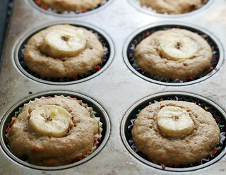 bananawalnutmuffinsinpan | by rachel is coconut&lime