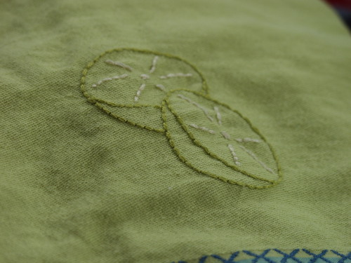 limes on a towel | by jenne_girle