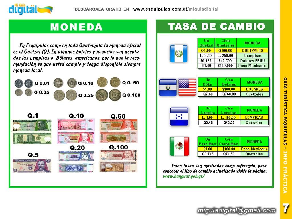 Moneda y Tipo Cambio Guatemala Guia Esquipulas | Descarga Gr… | Flickr