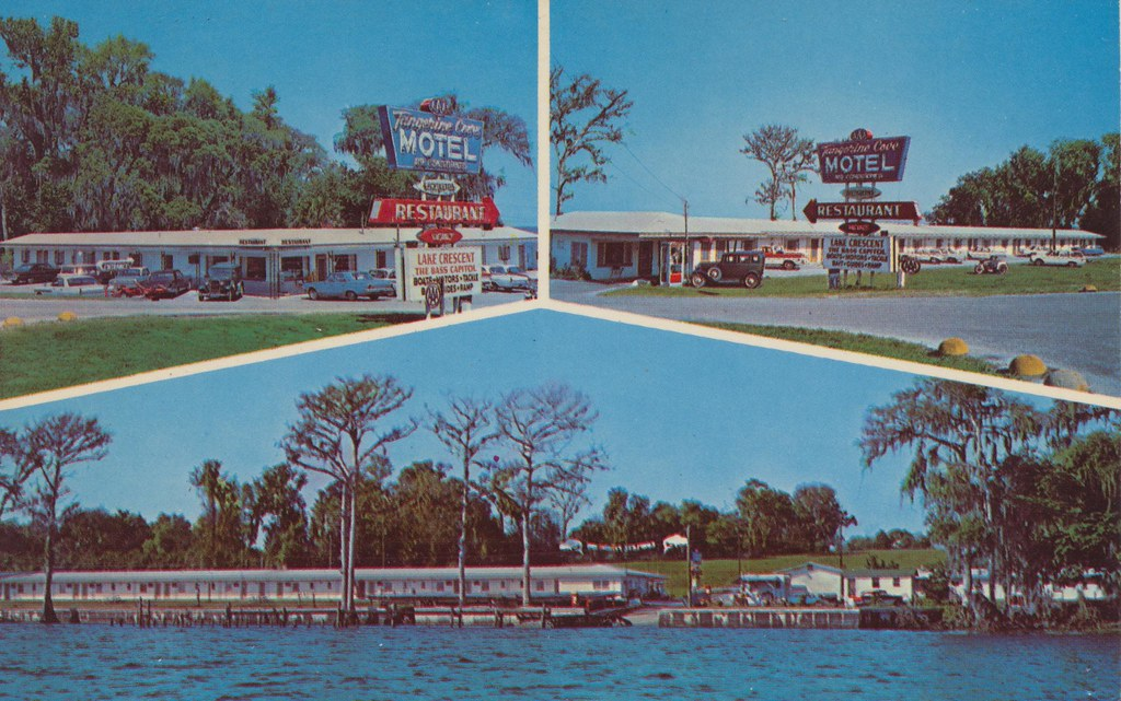 Tangerine Cove Motel & Restaurant - Crescent City, Florida