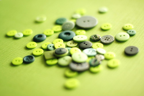 Green buttons | by Schona Kessler