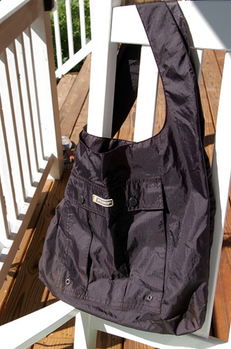 Recycled Rain Pants Bag | by The Quilted Turtle