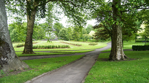 The People's Park, in Pery Square, is the principal park in Limerick City | by infomatique