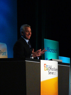 20080305 - LeMond Keynote at SharePoint 2008 Conference | by sadalit