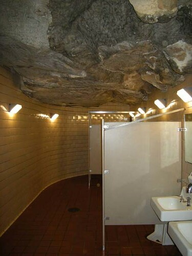 Subterranean cafeteria bathroom | by Nova-Geo