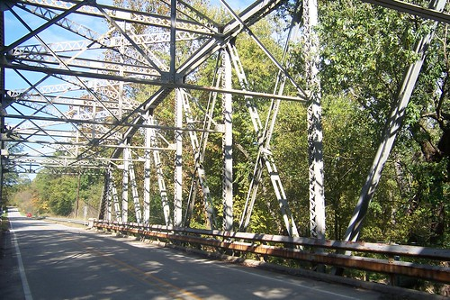 Steel truss bridge, Mill Creek | by Jim Grey