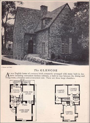 1929 Glencoe Home Builders Catalog The Home Builders