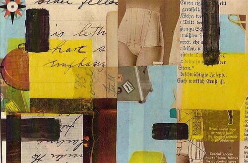 """This Support Controls"" collage by Rick Beerhorst 
