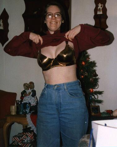 199612 Carolyn With Bra Carolyn Showing Off The