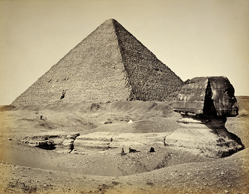 The Great Pyramid and the Sphinx | by National Galleries of Scotland Commons