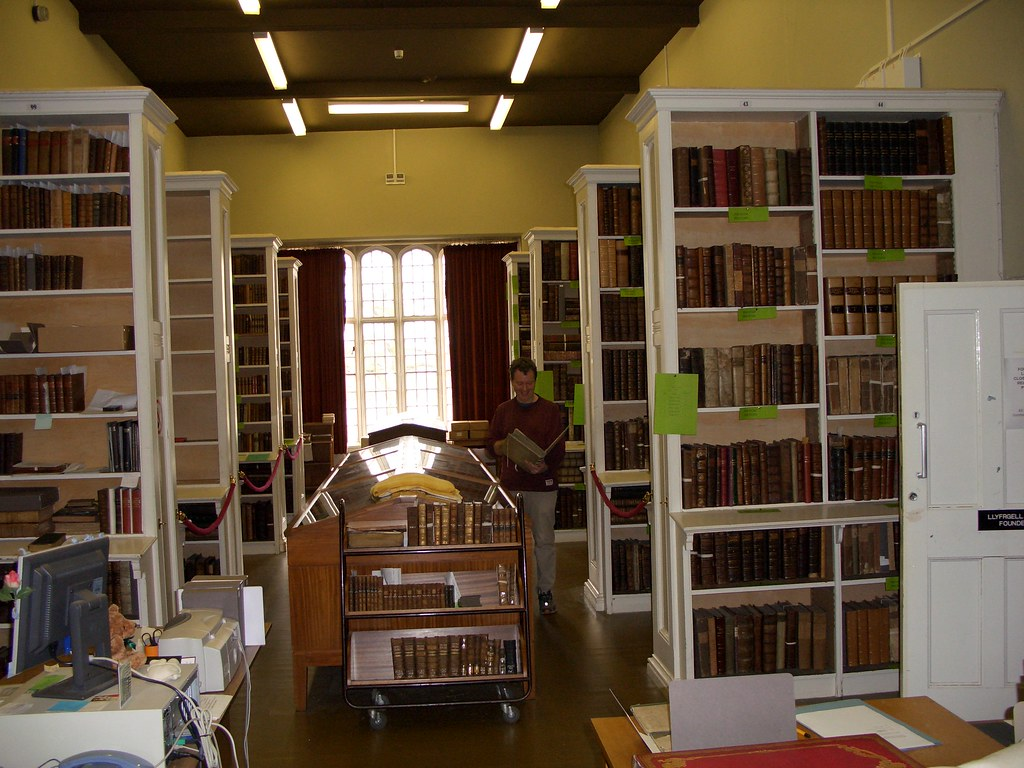 Founders Library Lampeter Former Accommodation Of The Fo Flickr