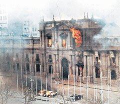 Resultado de imagen para la moneda en llamas 1973