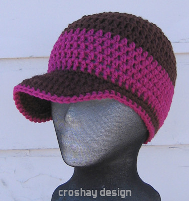 Crocheted Brim Beanie | the Original B Brim Beanie by Laura … | Flickr