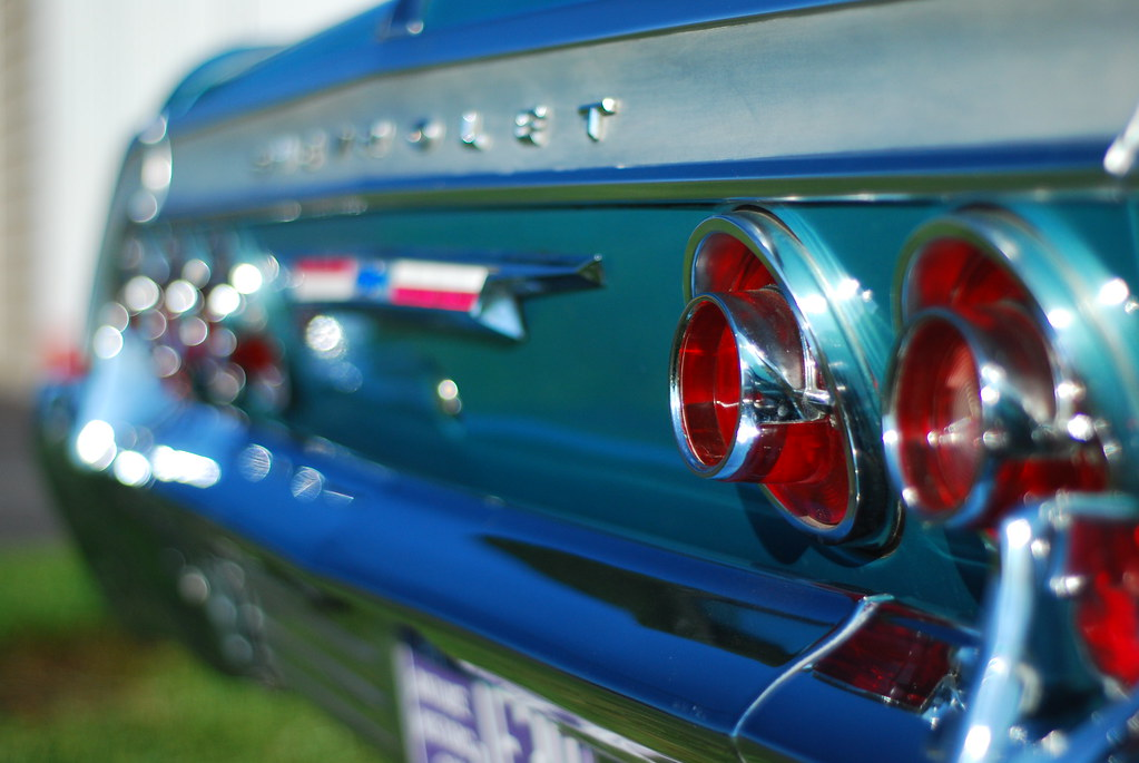 Impala Tail Lights Impala Tail Lights At A Muscle Car Club Flickr