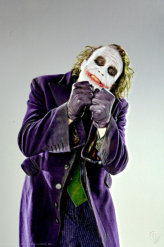 Heath Ledger (Joker) | Photoshoot portraits for Dark ...