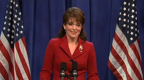 SNL: Tina Fey as Sarah Palin | by stevegarfield