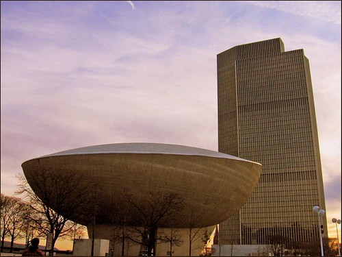 42. The Egg (Empire State Plaza, Albany, New York, United States) | by ackoblog