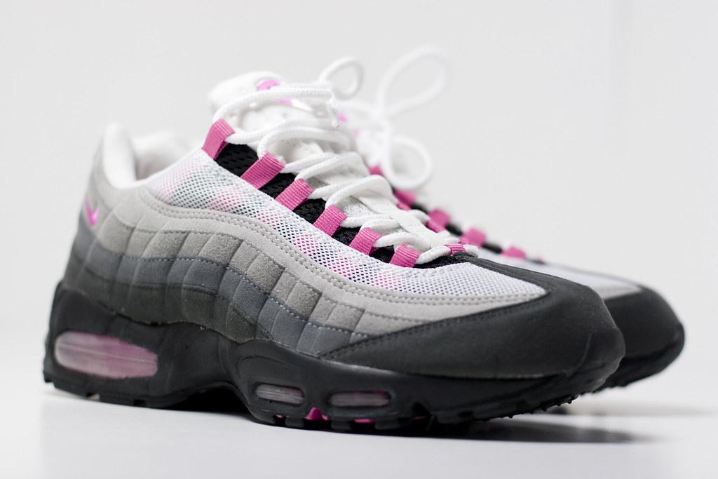 air max 95 pink white blue
