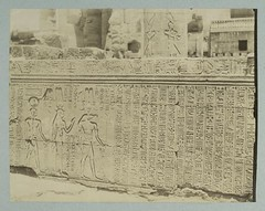 Kom ombos : bas relief | by New York Public Library