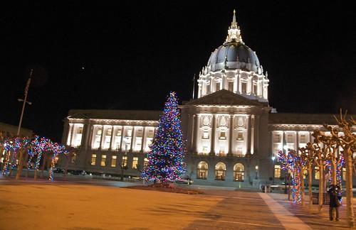 christmas tree « San Francisco Citizen  San Francisco City Hall Trees