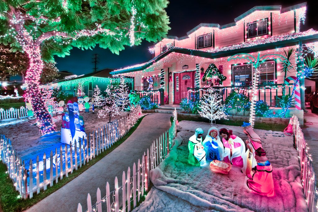 Candy Cane Lane Decorations Endearing Candy Cane Lane  Our Small Town Of El Segundo In California…  Flickr Decorating Design