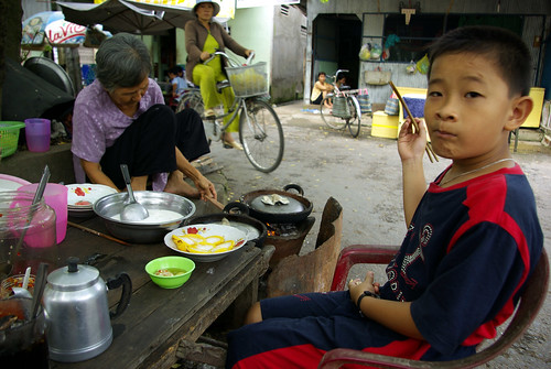 A Snack on The Way To School - Southern Vietnam | by The Hungry Cyclist