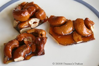 Honey Cashew Brittle | by Dianne's Dishes