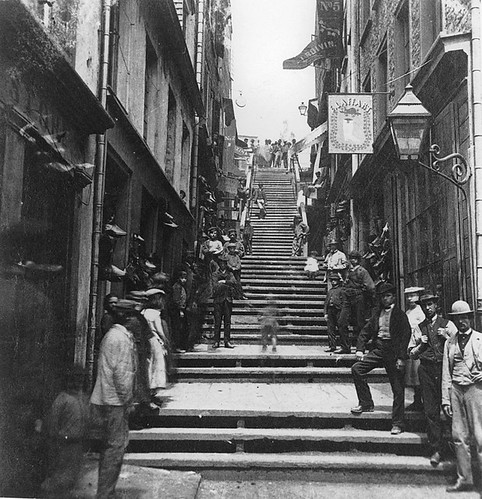 Breakneck Steps, Quebec City, QC, about 1870 | by Musée McCord Museum