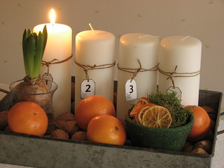 Advent candles 2008 | by Poppins' Garden