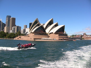 Speed Boating Santas in Sydney | by Jeff Marquis
