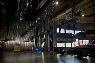 Electrics Load In | by The Glimmerglass Festival