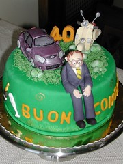 torta compleanno 40 anni by tortedecorate