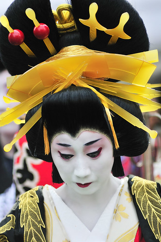Oiran - hair style, combs and pins | by ajpscs