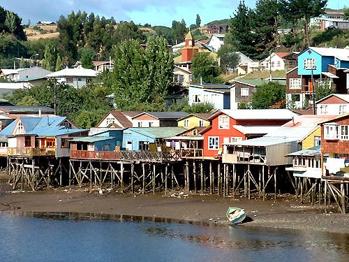 Palafitos en Castro (Chiloe - Chile)   © by Leon Calquin www…   Flickr