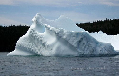 Iceberg in the bay | by Jean Knowles
