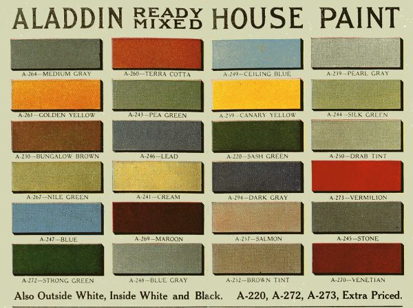 Attractive Historically Accurate Exterior Color Schemes::Period Paint For The Home |  Flickr