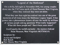 Mothman Statue | by Look Homeward, Harlot