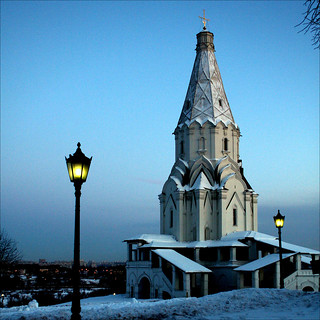 Church of the Ascension, Kolomenskoye in the winter evening | by JannaPham