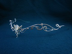 Moonlight  Circlet | by medievalbridalfashions.com