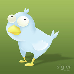 Twitter Bird | by chibbell
