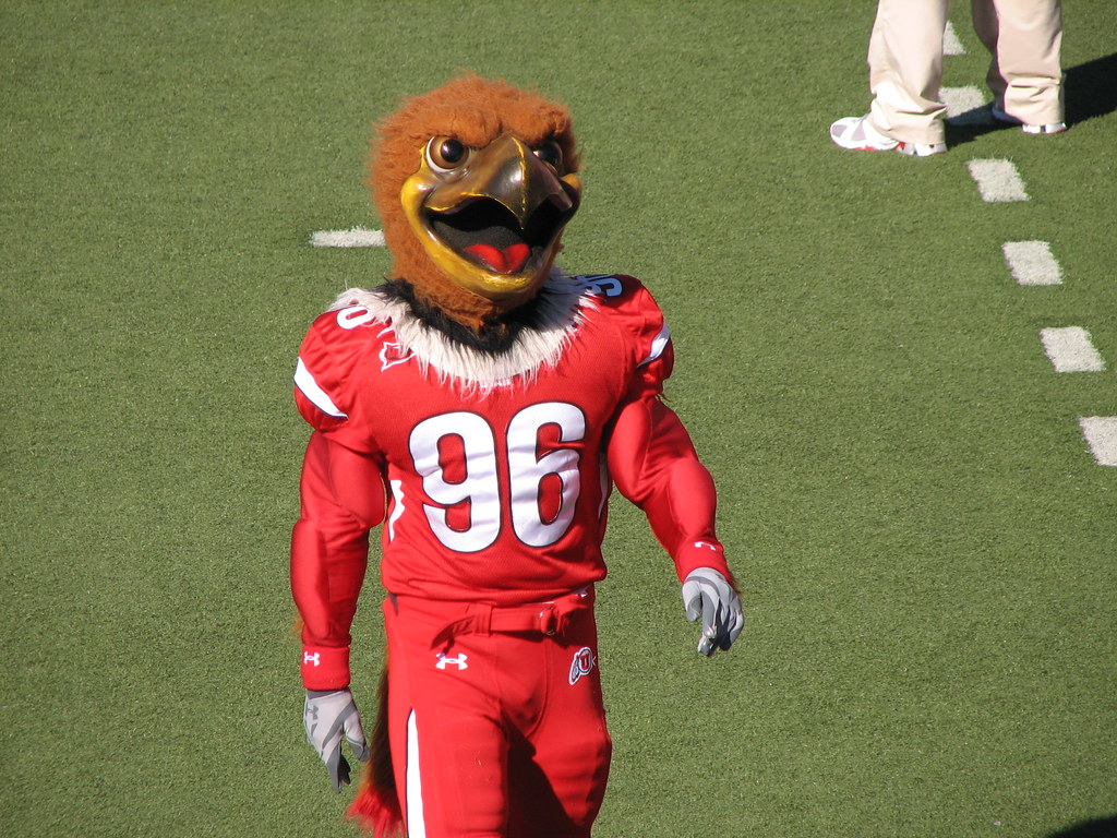 Image result for utah football mascot