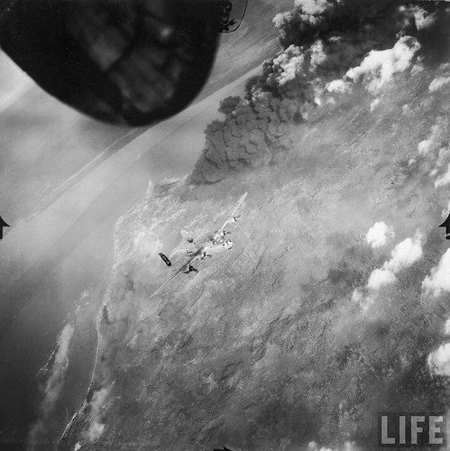 B-24 over Borneo | by D. Sheley