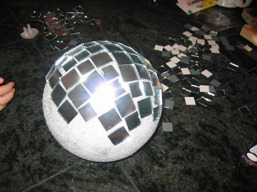 Disco Ball Craft Project