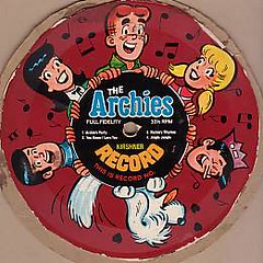 The Archies, Post Alpha-Bits record | by Cardboard Records
