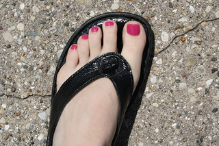 freshy polished toes | by lisalivingwell